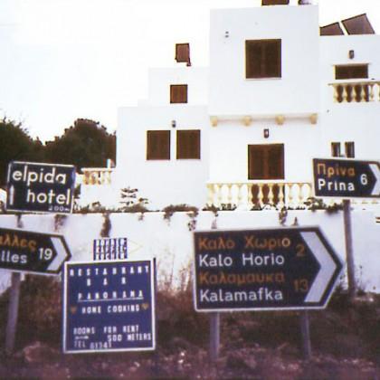 Public Image No. 10 • Crete, Greece • Photo: Joanne Kinsey-Calori